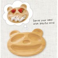 Petits et Maman Baby Kids Wooden Plate Panda (S) AVLZ2030S