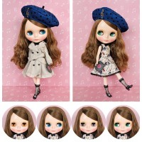 "Blythe CWC Limited Doll 12"" Neo Blythe Musical Trench Doll 878230"