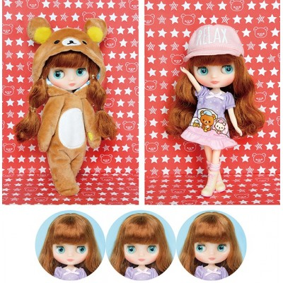 Middie Blythe x Rilakkuma Super Stars Bear Fashion TakaraTomy CWC Limited Doll 974246