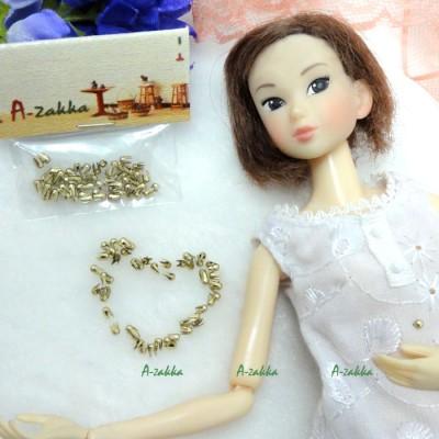 NDA041GLD Doll Dress Making Materials Mini Round Rivet 2.5mm Gold