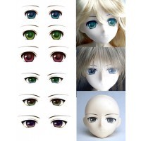 ED3-A Obitsu Super Dollfie SD DD 1/3 Doll Eye Decal Sticker A