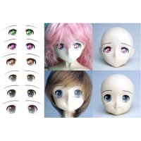 ED3-D Obitsu Super Dollfie SD DD 1/3 Doll Eye Decal Sticker D