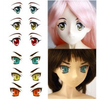 ED3-N Obitsu Super Dollfie SD DD 1/3 Doll Eye Decal Sticker N