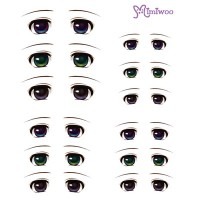 ED6-03 Obitsu 27cm Body 1/6 Dollfie Doll Eye Decal Sticker 03