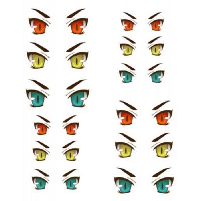 ED6-30 1/6 Bjd Doll Eye Decal Sticker 30