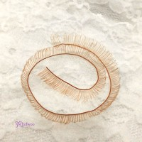 EL03-BRN DIY Doll Accessory Materials 8mm Eyelash Brown