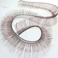 EL04-BRN DIY Doll Accessory Materials 10mm Eyelash Brown