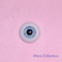 GF18R08 Super Dollfie Luts Obitsu SD Acrylic Eye 18mm - Blue