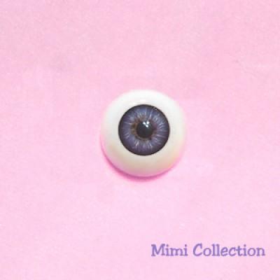 GF22SC07 BJD Doll Eye Acrylic Plastic eyeball 22mm- Purple