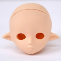 HD-PB-1102W Obitsu 23cm 21cm 11cm Petite Fairy Doll Head White