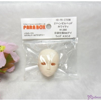 Parabox Henzel Head Obitsu 27cm Girl Slim Man White HD-PB-2709W