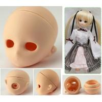 HD-PB-2710W Parabox Chara Head Obitsu 23-27cm Doll White Skin