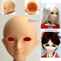 HD-PB-6007 Obitsu 60cm Sheba European Girl Doll Head White Eyeho