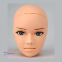 HD-PB-ARES3 Ares Makeup Head Natural Skin fit Obitsu Slim Male