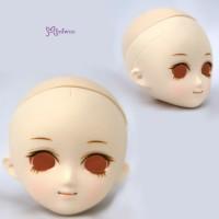 HD-PB-SAN Obitsu 21cm 23cm Body Makeup S Angela Head White Skin