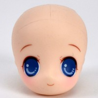 HD-PB-USA-B Obitsu 23cm 21cm 11cm White Usako Painted Head BLE
