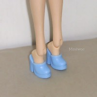 HSB011 Pullip Momoko Barbie Doll Shoe-High Heel Close End Blue