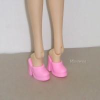 HSB013 Pullip Momoko Barbie Doll Shoe-High Heel Close End Pink