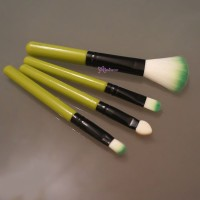 HSM015GRN Bjd Faceup Tool Makeup Brush & Weathering Sponge 4pcs