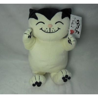 Jacob Cat 25cm Stuffed Plush - Sitting White JC25110B
