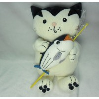 Jacob Cat 25cm Stuffed Plush - Enjoy Fishing Bonito JC25121B
