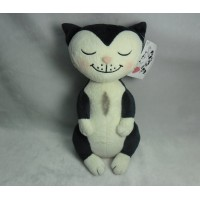 Jacob Cat 25cm Stuffed Plush - Minca Girl Sitting JC25130G