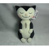 Jacob Cat 25cm Stuffed Plush - Minca Girl Sitting JC25130G