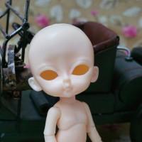 KBC001N Hujoo Baby Doll Cojoo Basic Nude Body Open Eye Apricot