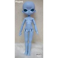 KHH001BLE Hujoo Girl 24cm Bjd Dollfie Open Eye Blue Skin Body