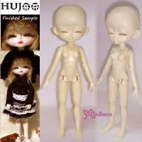 KHH002N Hujoo Girl 24cm Bjd Dollfie Sleepy Eye Normal Skin Body