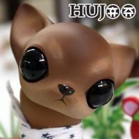 KHP001C Hujoo Pet Resin Doll Wawa Chocolate Makeup Dog Full Set