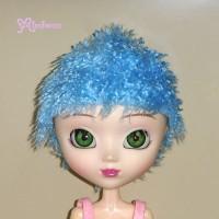 KSW007 Pullip Super Dollfie SD SD13 Luts Boy Hair Punk Fur Wig