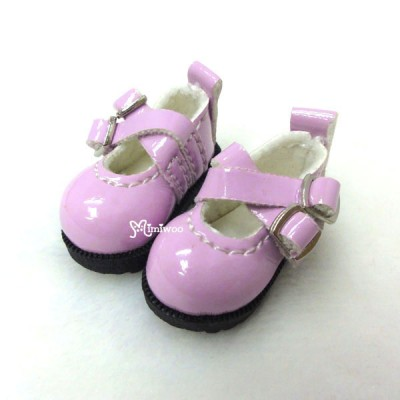 1/6 BJD Doll Cross Strap Shoes Pink LYS002PNK