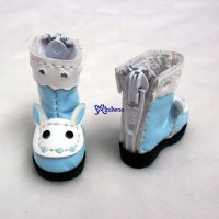 LYS017BLE Lati Yellow Blythe Pure Neemo Shoes Bunny Boots Blue