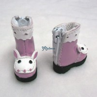 LYS017PNK Lati Yellow Blythe Pure Neemo Shoes Bunny Boots Pink