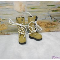 Lati Yellow Blythe Pullip Shoes Velvet Boots Brown LYS003LBN