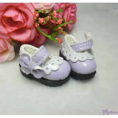 3.3cm Mary Jane Strap Shoes Purple SHP112PUE