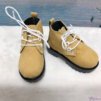 SHM042LBN MSD DOD DOC 1/4 bjd Doll Velvet Hiking Shoes Lt Brown