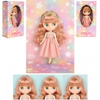 "CWC Limited Doll 8"" Middie Blythe Bubbly Bliss Girl Doll 817444"