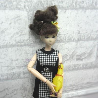 1/6 Bjd Doll Miniature Mini Shrilling Chicken TPS053B