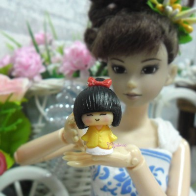Blythe Momoko 1/6 Miniature Mini Japanese Girl (PAIR) TPS056