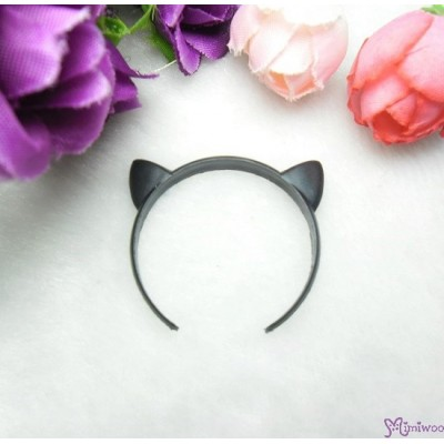 1/6 Bjd Doll Miniature Mini Cat Ear Black TPS125CBLK