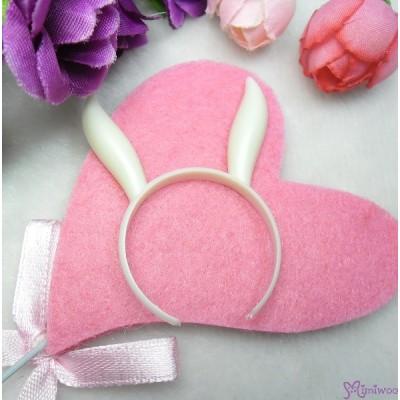 1/6 Bjd Doll Miniature Mini Bunny Ear White TPS126BWHE