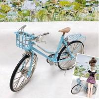 1/6 Bjd Hujoo Blythe Miniature Mini Bicycle Blue YC0082BLE