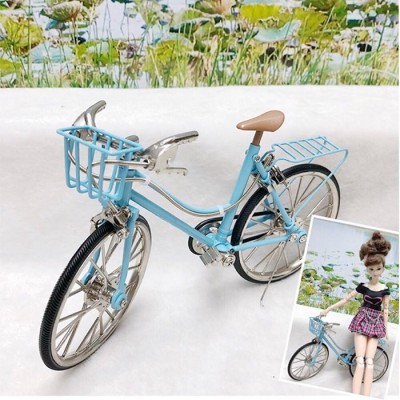 1/6 Bjd Miniature Mini Bicycle Blue YC0082BLE