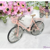 1/6 Bjd Miniature Mini Bicycle Pink YC0082PNK