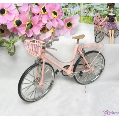 1/6 Bjd Hujoo Blythe Miniature Mini Bicycle Pink YC0082PNK