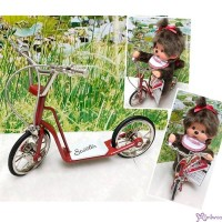 1/6 Bjd Doll MCC Miniature Metal Mini Scooter Red YC0083RED