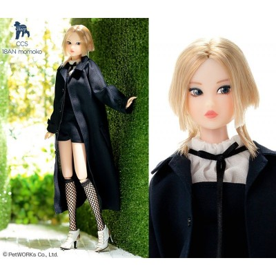 "Petworks CCS 18AN Momoko 27cm Doll  Jumpsuit & Fishnet Socks Girl ""PRE-ORDER"""