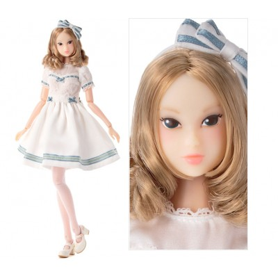 Sekiguchi Momoko Shirley Temple 27cm Girl Doll WHITE LILY dress 219438